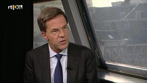 Rutte: Geen D66 en CDA in kabinet