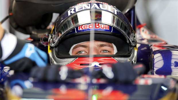 Verstappen piepelt Ricciardo