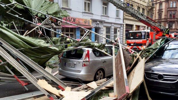 Dode en gewonden in Duitsland door orkaan Niklas