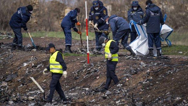 Opnieuw onderzoek op rampplek MH17