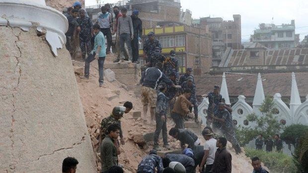 Oxfam: Inwoners Nepal doodsbang voor naschokken