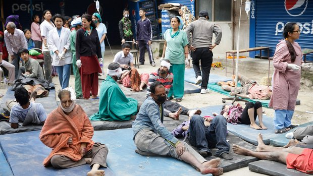 Dodental beving Nepal loopt op tot meer dan 800