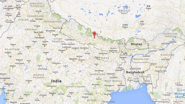 Zware aardbeving in Nepal