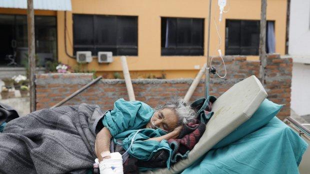 Angst voor naschokken: ziekenhuizen behandelen patiënten op straat