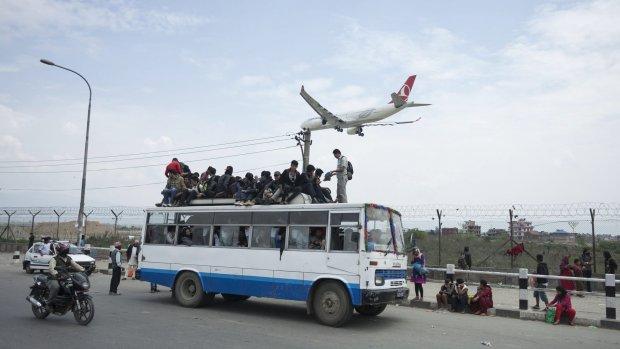 Eerste Nederlanders terug uit Nepal
