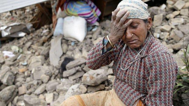 Hulporganisaties beginnen nationale actie voor slachtoffers aardbeving Nepal