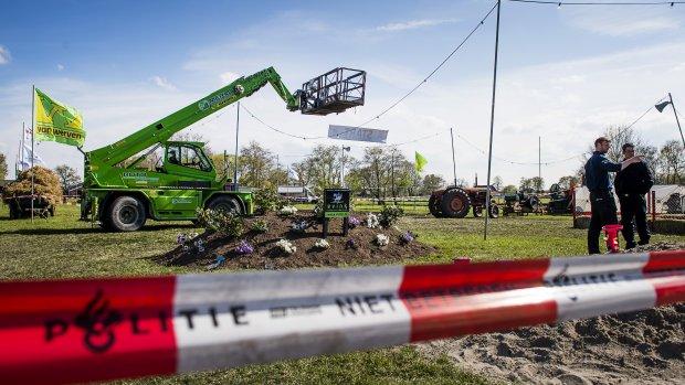 Politie zoekt beelden van ongeval met hoogwerker