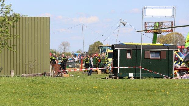 'Festival afgelast na ongeluk met hoogwerker'