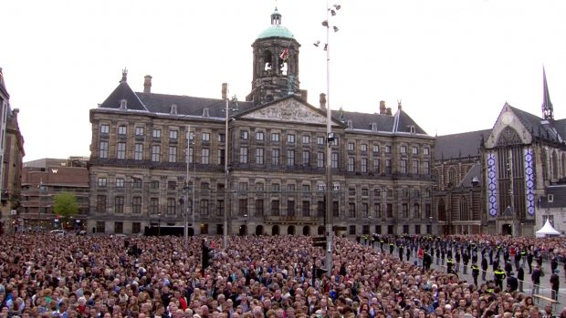 Nederland is twee minuten stil voor oorlogsslachtoffers
