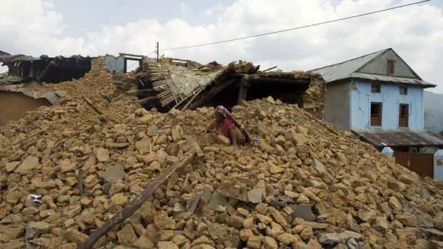 Veel meer huizen verwoest in Nepal door aardbeving
