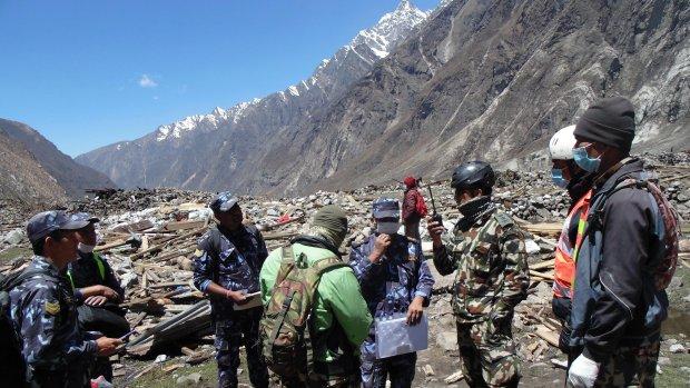 Leger Nepal redt 117 mensen uit bergdorpen