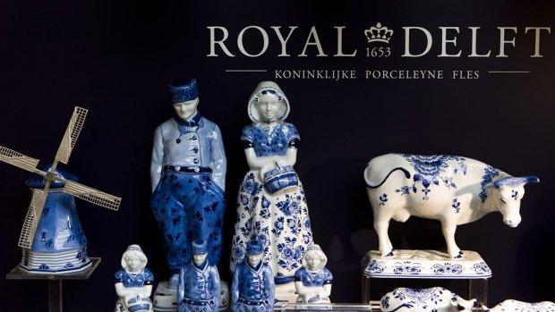 Royal Delft verkoopt merkrecht RoyalVKB