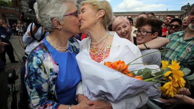 Ierland stemt met grote meerderheid vóór homohuwelijk