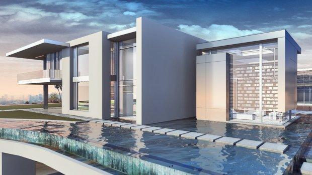 Een huis van 500 miljoen dollar