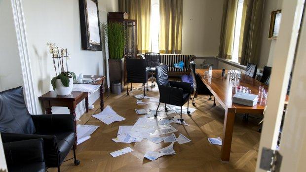 Kamer: Bezetters moeten dokken voor schade Maagdenhuis