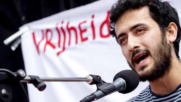 'Fuck de koning'-activist: Intimidatie OM heeft niet gewerkt