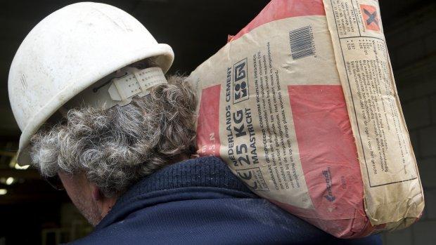 Al 40 procent van bouwvakkers is zelfstandige