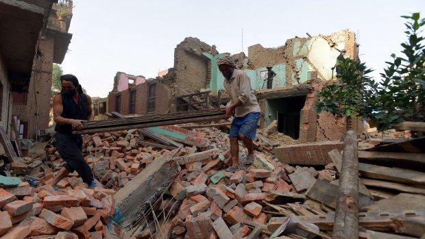 Wederopbouw Nepal kost bijna zes miljard euro
