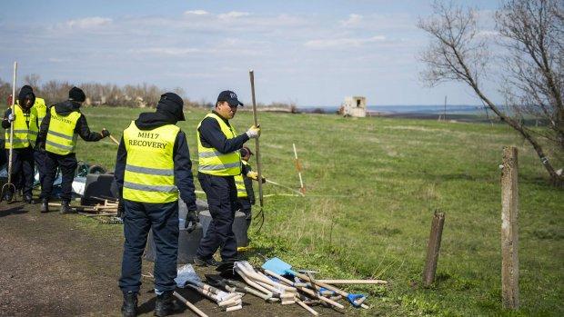 Nieuw sporenonderzoek MH17 in Oekraïne