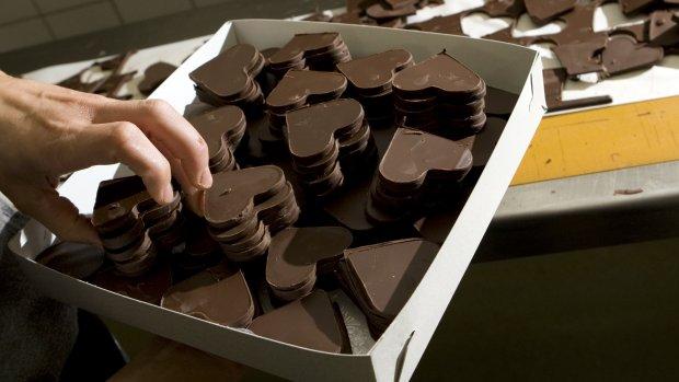 Uh oh. Chocola wordt steeds duurder