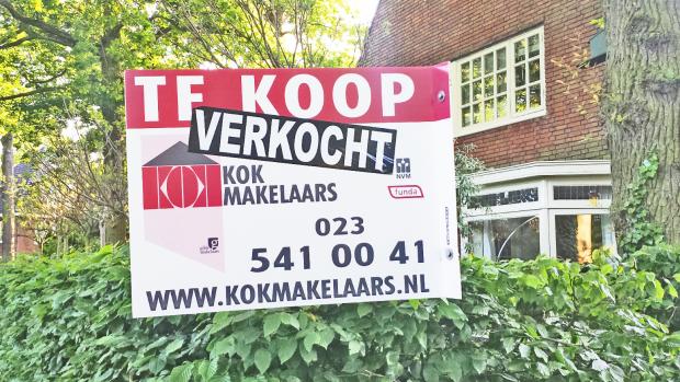Huizenprijzen stegen 3 procent in 2015