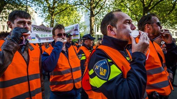 Politie wil Tourpeloton in Utrecht dwarsbomen