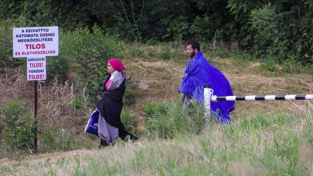 Hongarije laat vluchtelingen vertrekken