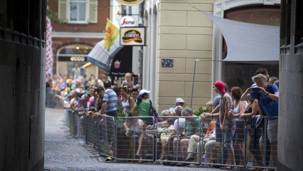 Utrecht maakt zich op voor tweede Tourdag