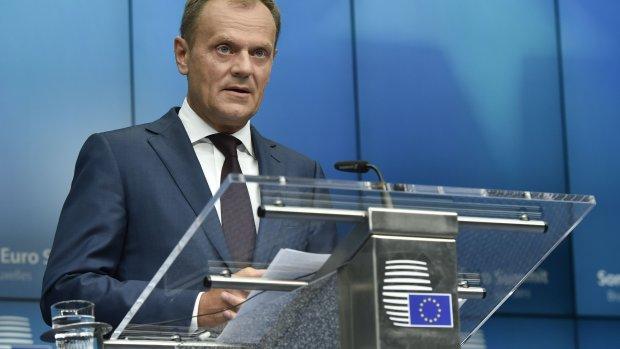 Tusk: Prettig scheiden van de Britten is geen optie