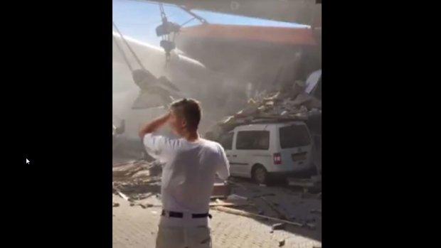 Video van ravage woonwijk Alphen aan den Rijn