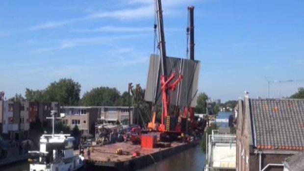 'Gemeente Alphen had niet alle nodige informatie over hijsen brug'