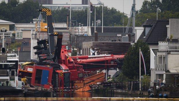 'Ongeluk Alphen tweede in korte tijd voor kraanbedrijf'