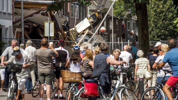 Burgemeester Spies: Ramptoeristen overspoelen Alphen aan den Rijn
