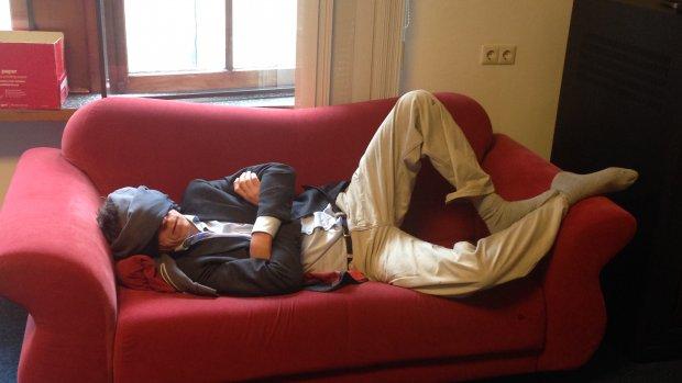 Doen: even slapen op je werk