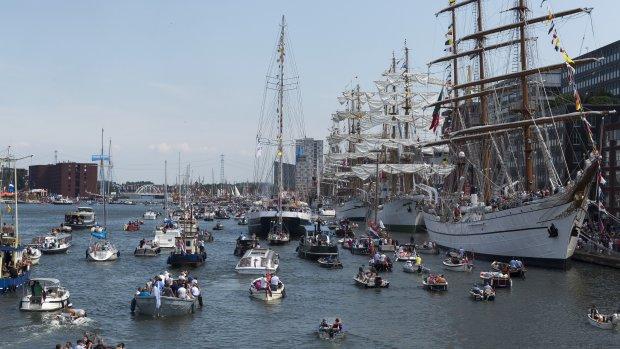 2,3 miljoen mensen bezochten Sail