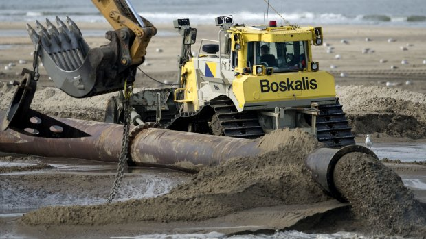 'Boskalis heeft last van minder vraag naar nieuwe havens'