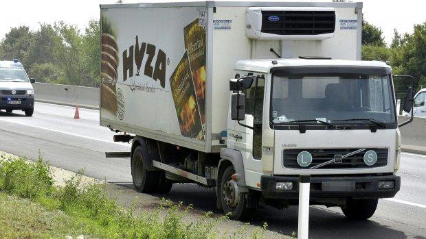 Vier kinderen onder doden in vrachtwagen Oostenrijk