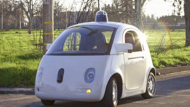 Google's auto gaat communiceren met voetgangers