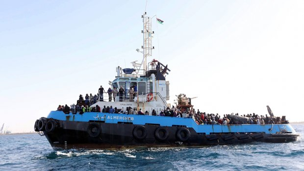 200 overlevenden bootramp Libië, maar ook veel doden