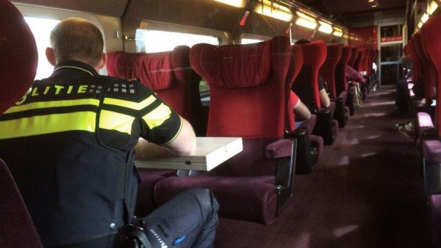 Met de Thalys naar Parijs: politie rijdt een stukje mee