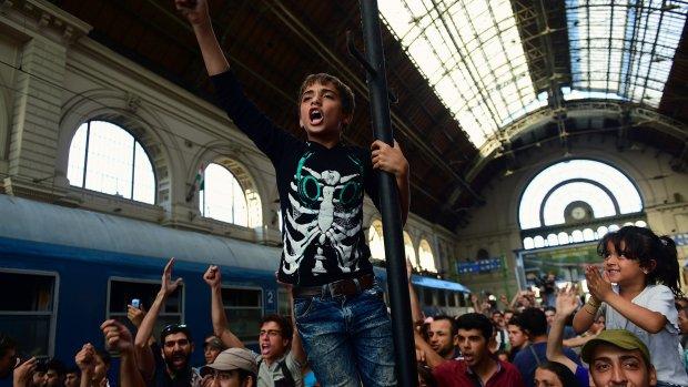 Politie Wenen: Wij gaan migranten niet controleren