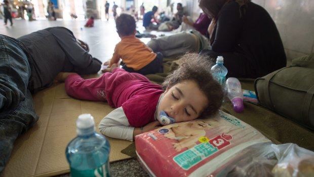 Wanhoop in beeld: Hongarije laat vluchtelingen niet vertrekken
