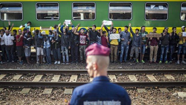 Vluchteling Hongarije dood na val op spoor
