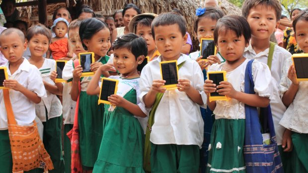 WakaWaka doneerde te weinig solarlampen aan arme lampen