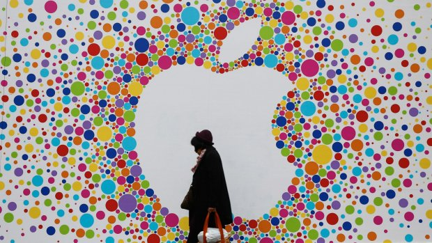 Winst Apple keldert 22 procent