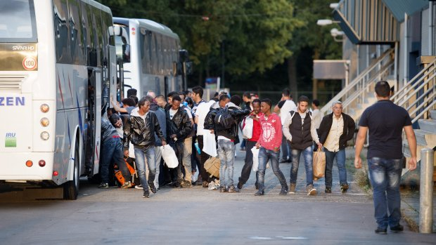 'Uitgehuwelijkte meisjes onderweg naar Nederland'