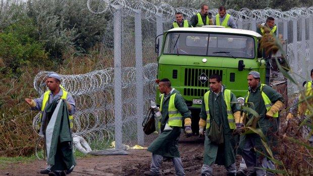 Recordaantal vluchtelingen naar Hongarije