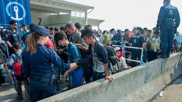 Oostenrijk verwacht vandaag 20.000 vluchtelingen
