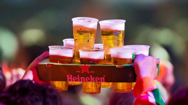 Klein verlies voor bierbrouwer Heineken op kalme handelsdag
