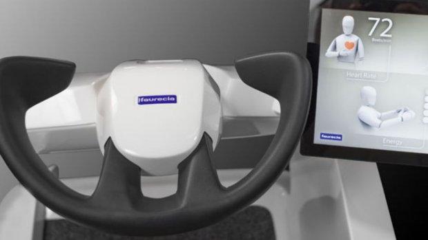 Masserende autostoel voelt of je gestresst of moe bent